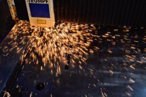 Cięcie laserem blach